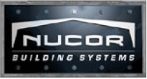 Image of Nucor Building Systems logo.  Fox Building Company is a nucor building systems contractor and one of the Top 5 Nucor Building Systems contractors in the Southeastern U.S.