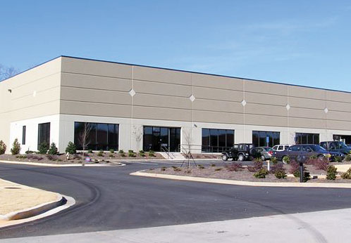 Image of NuVision multi-tentant building.  Fox Building Company was the general contractor.
