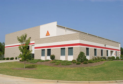 Image of Sika manufacturing plant just outside of Atlanta GA. Fox Building Company was the general contractor.