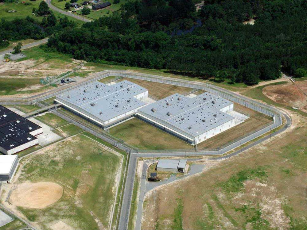 Image of a Furnish and Erect Project: Correctional Facility in Georgia