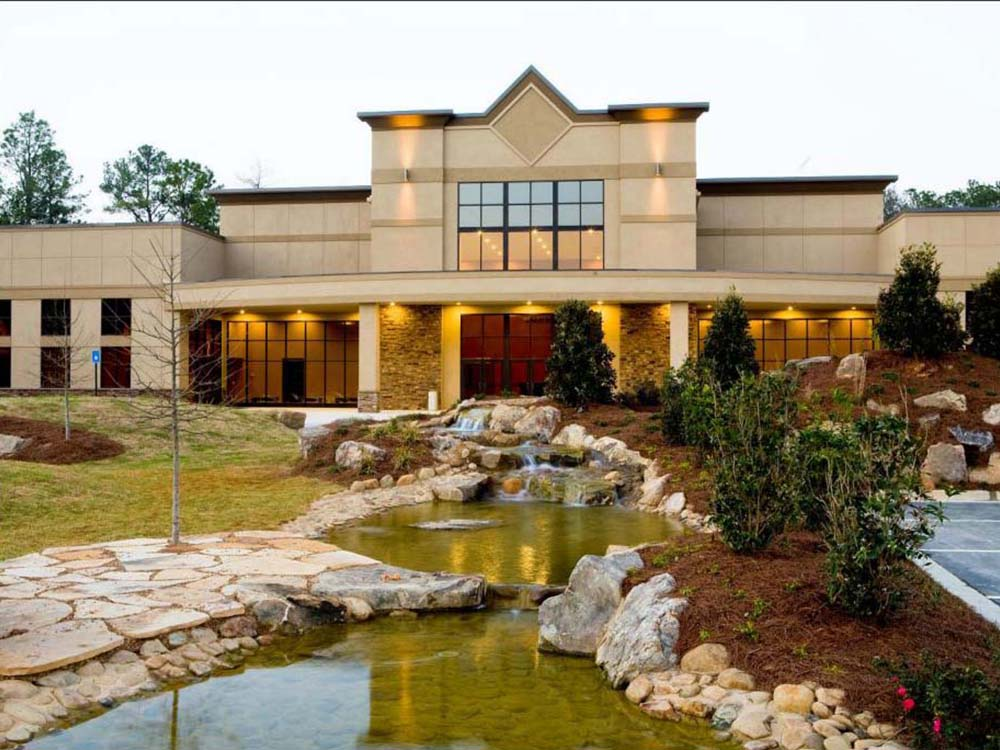 Image of a Furnish and Erect Project: Harvest Church in Byron GA